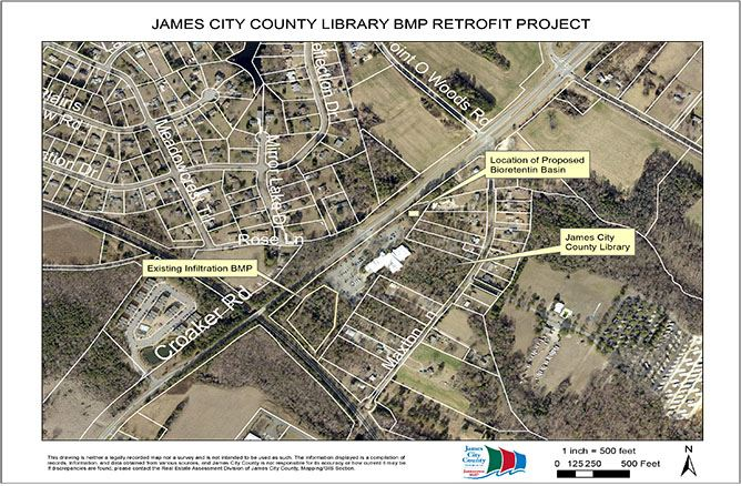 Library BMP Retrofit Project Map