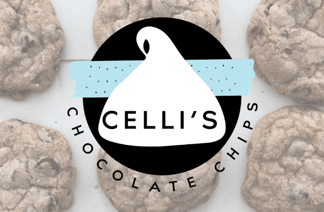 Celli&#39s Chocolate Chips logo